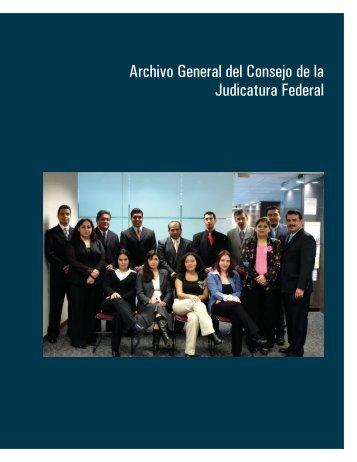 Archivo General del Consejo de la Judicatura Federal