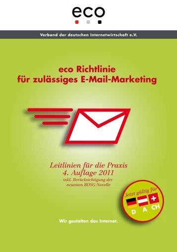 eco Richtlinie f