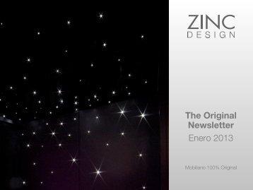 The Original Newsletter Enero 2013 - Zinc