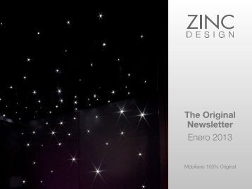 The Original Newsletter Enero 2013 - Zinc