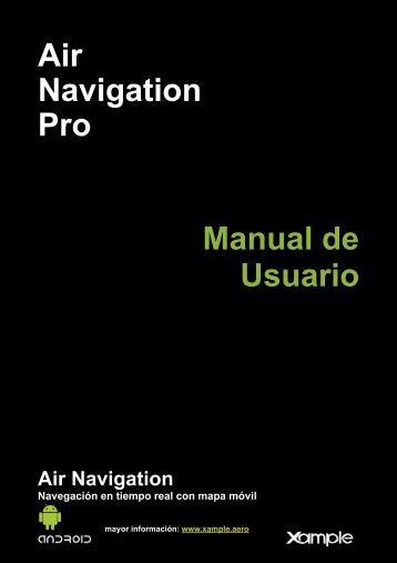 Air Navigation Pro Manual de Usuario - Xample