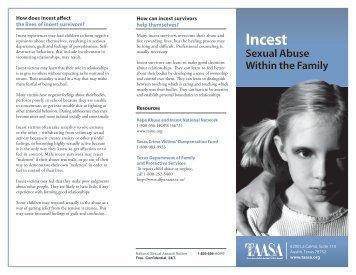 Incest - Texas Association Against Sexual Assault