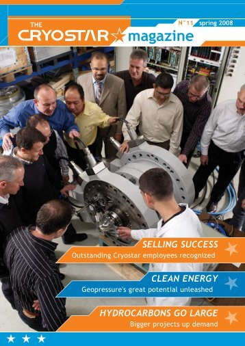 hydrocarbons go large clean energy selling success - Cryostar