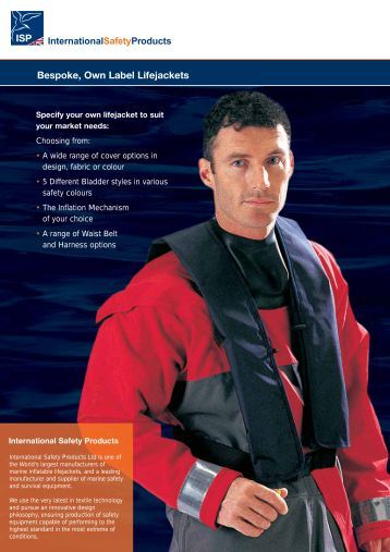 ISP Bespoke Lifejacket Brochure.pdf - International Safety Products ...