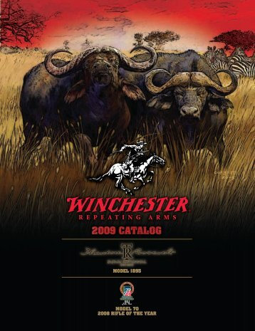 2009 model 70 2008 rifle of the year model 1895 - Winchester