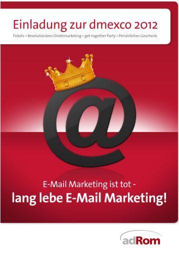 Einladung zur dmexco 2012