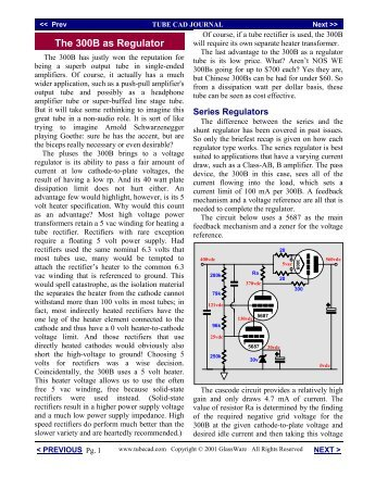 300B as pass device.pub - Tube CAD Journal