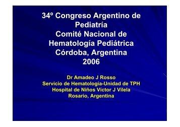 34º Congreso Argentino de Pediatría Comité Nacional de ...