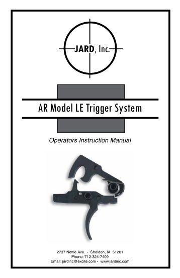 jard trigger installation instructions