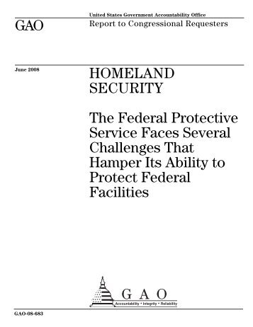 Highlights - US Government Accountability Office