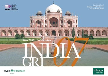 Global and Local Investors and Developers in Indian Real Estate