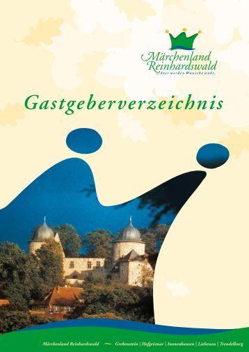 Gastgeberverzeichnis - Märchenland Reinhardswald