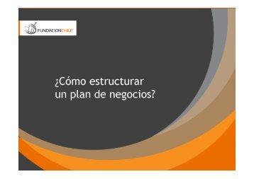¿Cómo estructurar un plan de negocios? - Bligoo.com