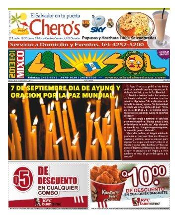 7 de septiembre dia de ayuno y oracion por la ... - ElsoldeMixco.com