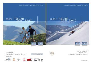 lech und zürs am arlberg - Tiscover