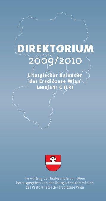 direktorium 2009/2010 direktorium 2009/2010