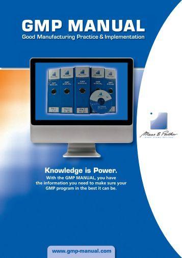 GMP MANUAL - GMP Publishing