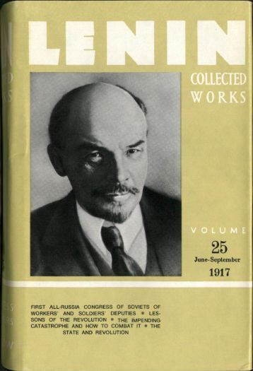 Lenin CW-Vol. 25-TC.pdf - From Marx to Mao