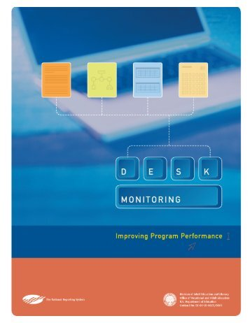 Desk Monitoring Guide - National Reporting System