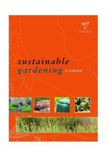 Sustainable Gardening - City of Darebin