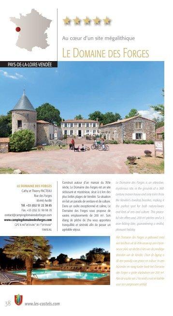 Le Domaine des Forges - Les Castels
