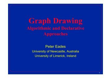 Graph Drawing - The University of Sydney