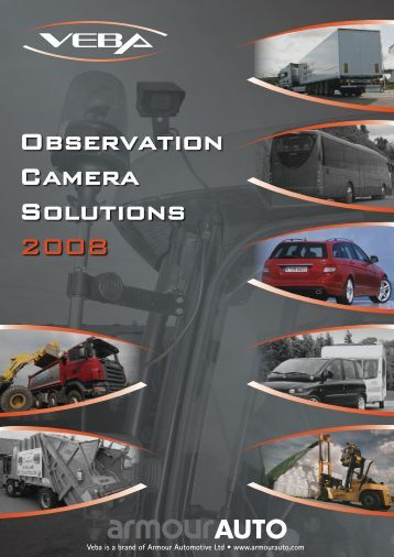 Observation Camera Solutions 2008 - Car Systeme Diffusion