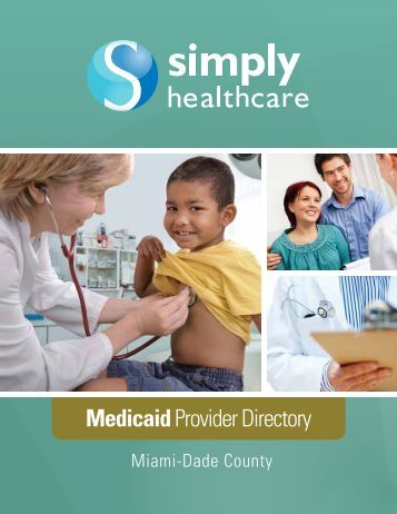 Dade - Medicaid Provider Directory - Simply Healthcare Plans