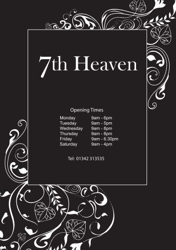 4 the most the most impor for 7th heaven beauty salon