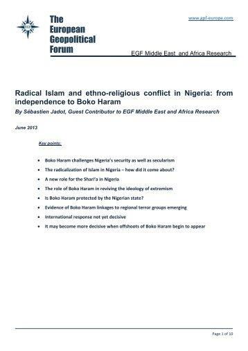 International Community Ignores Genocide of Christians in Nigeria
