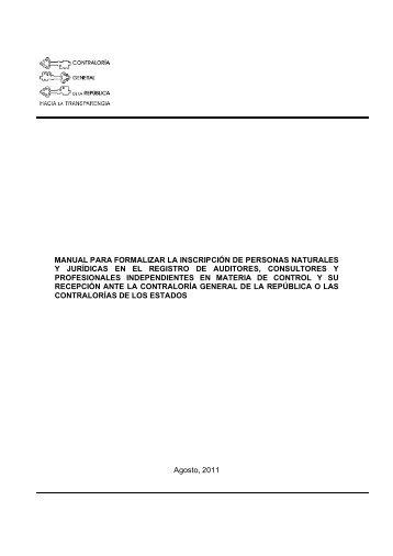 manual para formalizar la inscripción de personas naturales y ...
