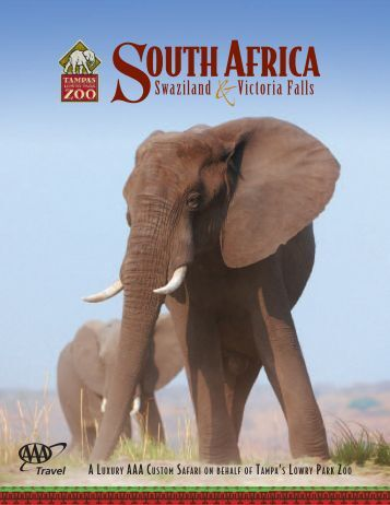 outh AfricA - Tampa's Lowry Park Zoo