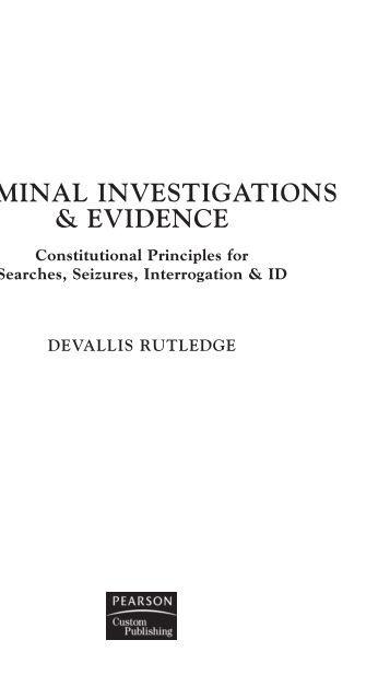 Preservation of Evidence in Criminal Cases