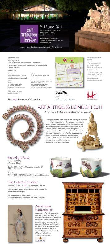 ART ANTIQUES LONDON 2011 - Haughton International Fairs