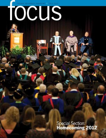Special Section: Homecoming 2012 - Friends University