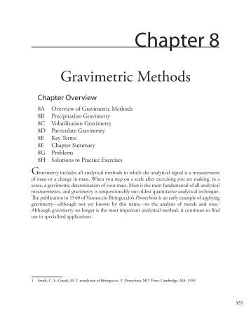 """lab 3 gravimetric analysis of a metal carbonate Gravimetric analysis of an unknown sulfate page 1 of 3  the metal """"m"""" present in the sulfate salt  record this mass on your lab report next,."""
