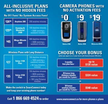 Call 1 866 669 4524to order - Sears Connect