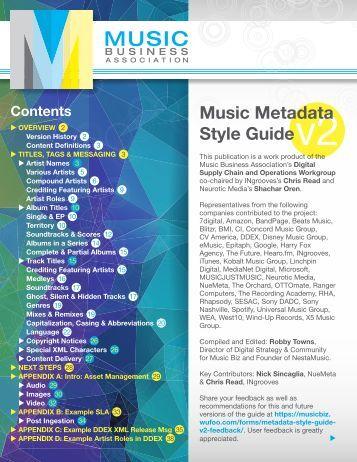 MusicMetadataStyleGuide-MusicBiz-FINAL