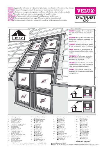 gevelelement type vfe vfa vfb velux. Black Bedroom Furniture Sets. Home Design Ideas