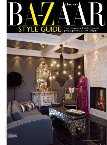 STYLE GUIDE Your essential hot list of essential ... - Thenumber4