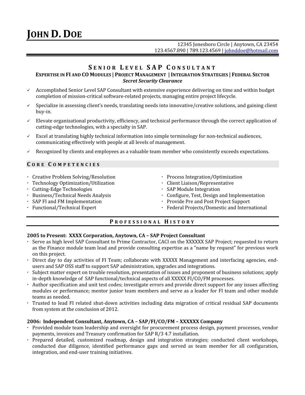 Monster Resume Samples Sample Nurse Resume Monster