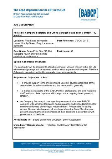 Assistant Underwriter job in Stirlingshire