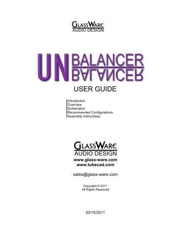 Unbalancer 9-pin.pdf - Tube CAD Journal