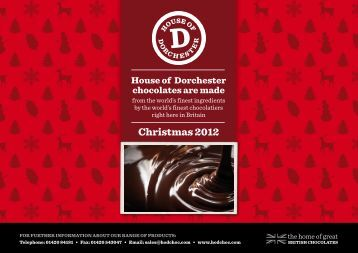 Christmas 2012 - The House of Dorchester
