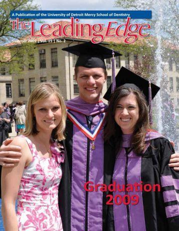 Graduation 2009 - UDM School of Dentistry - University of Detroit ...