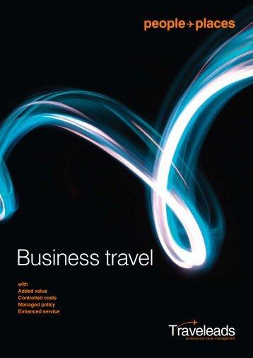 PDF 2011 corporate travel brochure - TIA UK