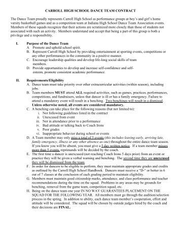 dance contract for school dp The campbell union high school district, referred to as the cuhsd, is a school district in the greater san jose, california, usa area, including campbell and saratoga.