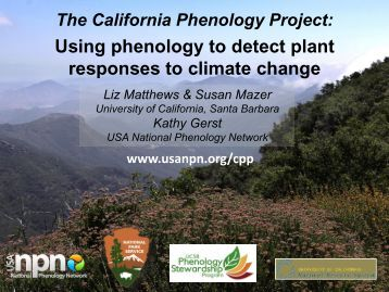 CPP - USA National Phenology Network