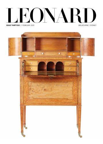 Leonard Issue 36 February 2015 Spread