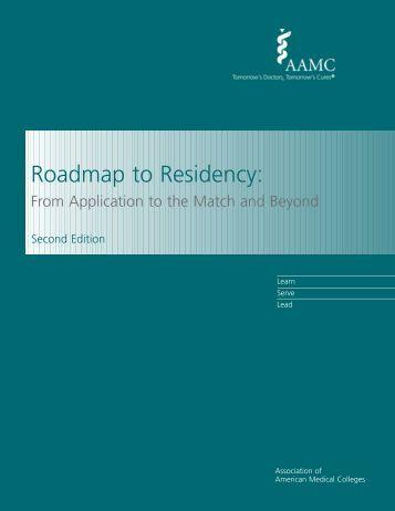 Roadmap to Residency: - AAMC